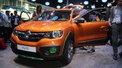 Renault Kwid Outsider front three quarter unveiled Brazil
