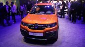Renault Kwid Outsider front unveiled Brazil