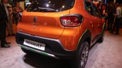 Renault Kwid Outsider rear quarter unveiled Brazil