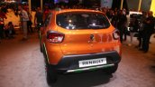 Renault Kwid Outsider rear unveiled Brazil