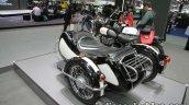 Royal Enfield Classic 500 sidecar rear three quarter at Thai Motor Expo.jpg