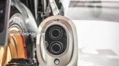 Suzuki GSX-R150 exhaust pipe at IMOS 2016