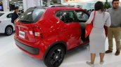 Suzuki Ignis at 2016 Bogota Auto Show rear three quarters right side