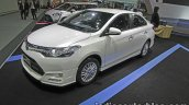 Toyota Vios Exclusive front quarter at the Thai Motor Expo Live