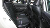 Toyota Vios Exclusive rear cabin at the Thai Motor Expo Live