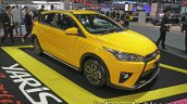 Toyota Yaris TRD Sportivo special edition front three quarter at the Thai Motor Expo