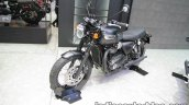Triumph T100 black front three quarter at Thai Motor Expo