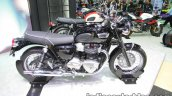 Triumph T100 side at Thai Motor Expo