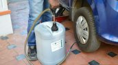 Tyre protector pumping in sealant review