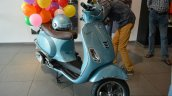 Vespa VXL 70th Anniversary Edition front three quarter launched