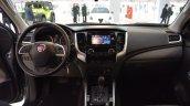 2016 Fiat Fullback interior at 2016 Bologna Motor Show
