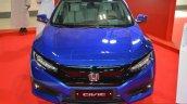 2016 Honda Civic sedan front at 2016 Oman Motor Show