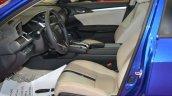 2016 Honda Civic sedan front seats at 2016 Oman Motor Show