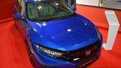 2016 Honda Civic sedan front three quarters at 2016 Oman Motor Show