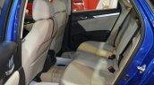 2016 Honda Civic sedan rear seats at 2016 Oman Motor Show