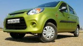 2016 Maruti Alto 800 (Facelift) front quarter low Review