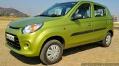 2016 Maruti Alto 800 (Facelift) front three quarter Review