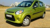 2016 Maruti Alto 800 (Facelift) front three quarter left Review