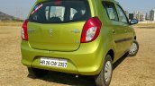 2016 Maruti Alto 800 (Facelift) rear quarter Review