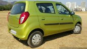 2016 Maruti Alto 800 (Facelift) rear three quarter Review