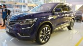 2016 Renault Koleos front three quarters at 2016 Bologna Motor Show