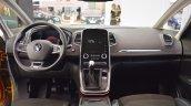 2016 Renault Scenic interior dashboard at 2016 Bologna Motor Show