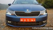 2016 Skoda Rapid front fascia review