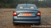 2016 Skoda Rapid rear review