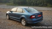 2016 Skoda Rapid rear three quarter review