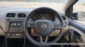 2016 Skoda Rapid steering wheel review