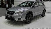 2016 Subaru XV STi (facelift) front quarter at the Thai Motor Expo Live