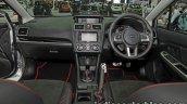 2016 Subaru XV STi (facelift) dashboard at the Thai Motor Expo Live