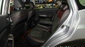 2016 Subaru XV STi (facelift) rear seat at the Thai Motor Expo Live