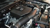 2016 Toyota Fortuner TRD engine bay in Oman