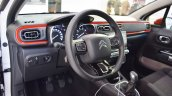 2017 Citroen C3 interior at 2016 Bologna Motor Show
