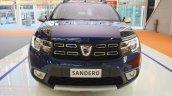 2017 Dacia Sandero front at 2016 Bologna Motor Show
