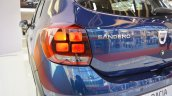2017 Dacia Sandero tail lamp at 2016 Bologna Motor Show