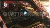 2017 Fiat 500L (facelift) interior spy shot