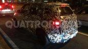 2017 Fiat 500L (facelift) rear three quarters spy shot