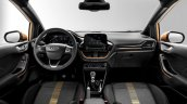 2017 Ford Fiesta Active interior
