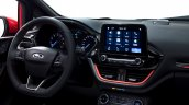 2017 Ford Fiesta interior dashboard driver side