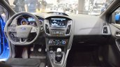 2017 Ford Focus RS interior dashboard at 2016 Bologna Motor Show