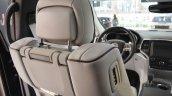 2017 Jeep Grand Cherokee driver seat at 2016 Bologna Motor Show