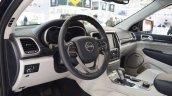 2017 Jeep Grand Cherokee interior at 2016 Bologna Motor Show