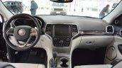 2017 Jeep Grand Cherokee interior dashboard at 2016 Bologna Motor Show