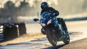 2017 Kawasaki Ninja 300 Winter Test Edition headlamp motion