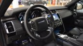 2017 Land Rover Discovery interior at 2016 Bologna Motor Show