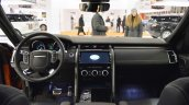2017 Land Rover Discovery interior dashboard at 2016 Bologna Motor Show