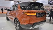 2017 Land Rover Discovery rear three quarters at 2016 Bologna Motor Show
