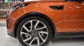 2017 Land Rover Discovery wheel at 2016 Bologna Motor Show